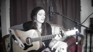 Rudy Singing - Copyright Rudy Simone 2014