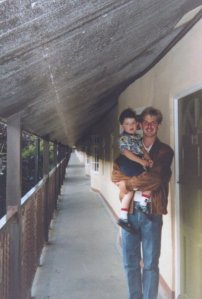 Dad and I Butlins 1991