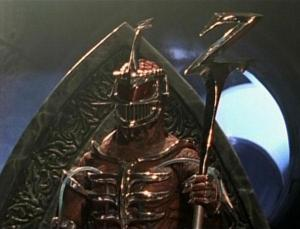 "Lord Zedd on his ""Ivory Throne"""