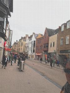 Street Scene Pixeled