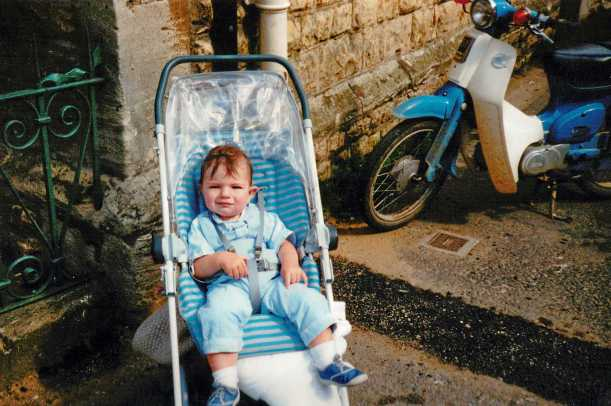 Paul Baby Picture 1988