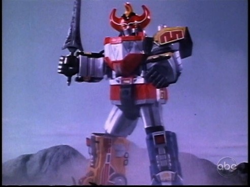 Megazord  & Mega Sword