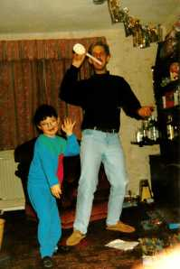 Dad and I Dancing