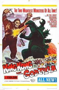 King Kong vs Godzilla USA Poster