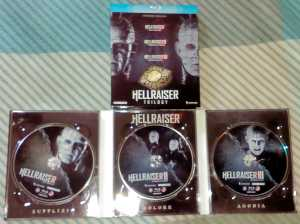 Hellraiser Blu-ray Trilogy Boxset