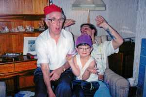Family Christmas Early 90s
