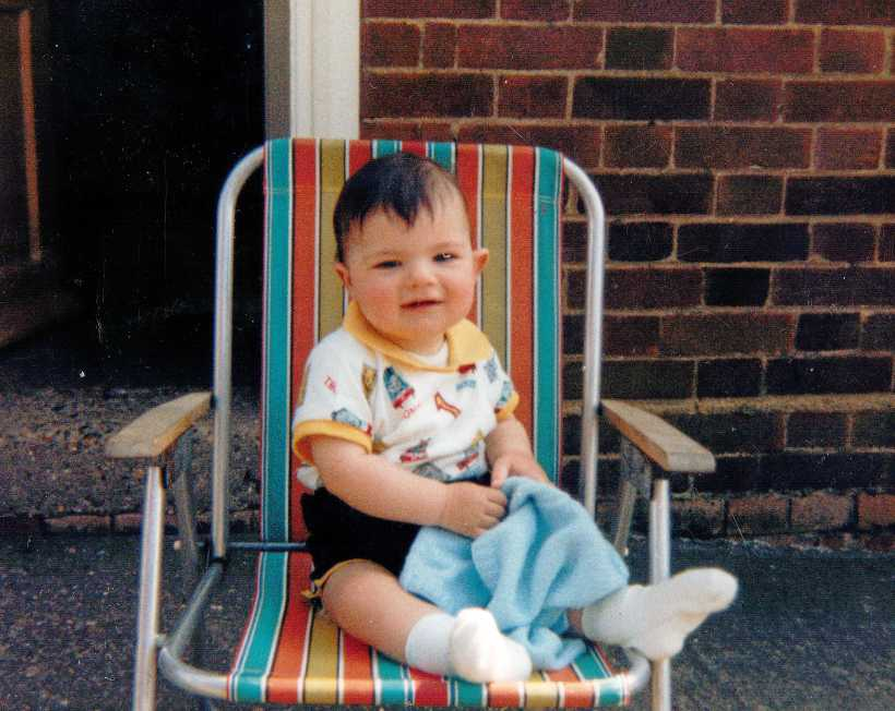 Baby Pictures Deck Chair I Year Old