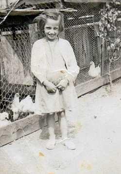 Nanny Janet Black and White