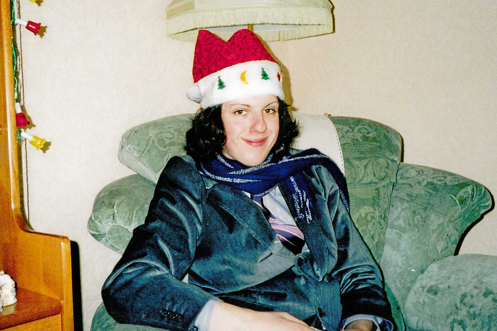 Me Early 20s Christmas Hat